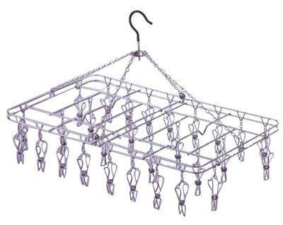 からみにくい ステンレスハンガーDL型 ピンチ (ピンチ28ヶ) 00381-4