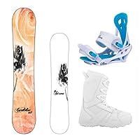 Siren Cordelia Women's Complete Snowboard Package 2015 by Siren