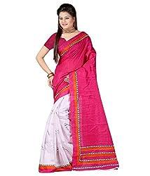 SareeShop Women's Saree with Blouse Piece Saree (Bhagalpuri20923_MultiColored _Free Size)