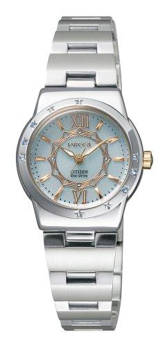 CITIZEN (シチズン) 腕時計 wicca ウィッカ Eco-Drive エコ・ドライブ プリンセスウィッカ NA15-1442C レディース