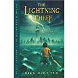 Image of The Lightning Thief (Percy Jackson and the Olympians, Book 1) Literature Circle edition by Rick Riordan published by Scholastic Inc. (2005) [Paperback]