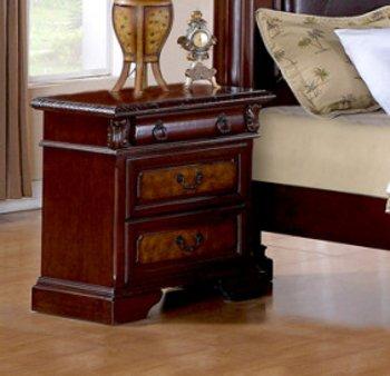 Ash Bedside Table 9283 front