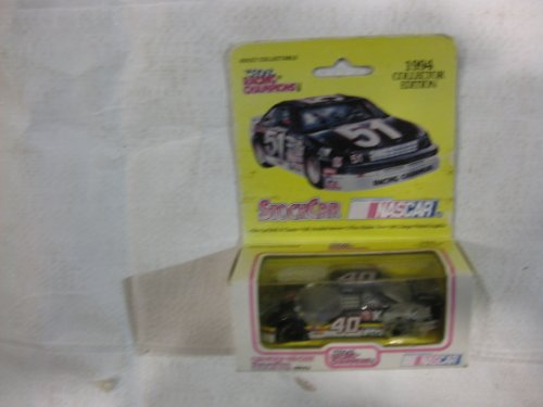 Nascar Bobby Hamilton #40 Kendall Oil Pontiac Gran Prix Racing Team - Racing Champions 1994 Collector Edition Black Car with White 51 RARE YELLOW BOX