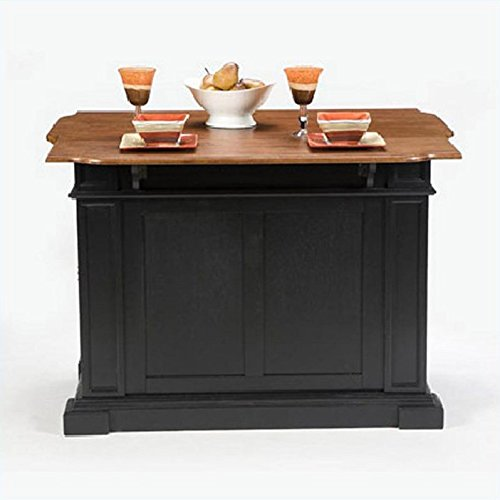 home styles 5003 94 kitchen island black and distressed small kitchen island with seating stylish small kitchen