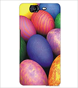 MICROMAX A350 CANVAS KNIGHT COLORFUL STONES Designer Back Cover Case By PRINTSWAG