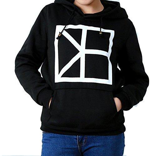 Cnblue Clothes Black Hoodie Sweatshirts (XL) (Cnblue Merchandise compare prices)