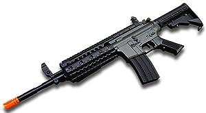 Airsoft M4 S-System Electric Gun Jing Gong JG6613 - Black