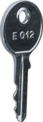 Hager Ersatzschlüssel,universZ FZ457 für FZ455 univers Z Schlüssel für Schranksysteme 3250612764570