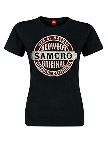 Sons Of Anarchy Samcro Original Maglia donna nero S