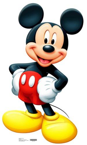 Imagen de Mickey Mouse Vida Tamaño de corte para 42 pulgadas