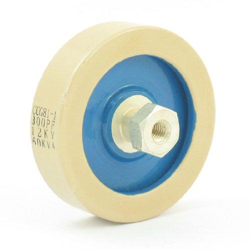 300Pf 12Kv 60Kva Plate Shape Hv Ceramic Capacitor Ccg81-1