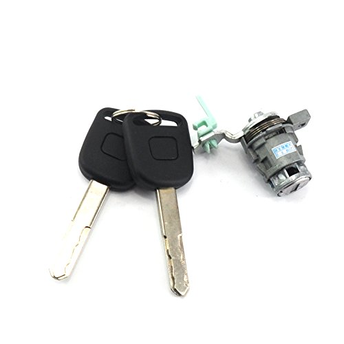 Looyuan Left Driver Side Door Lock Cylinder Keys For Honda