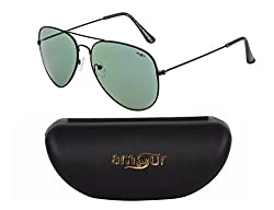 Amour Black Frame With Green Lens{20-A}