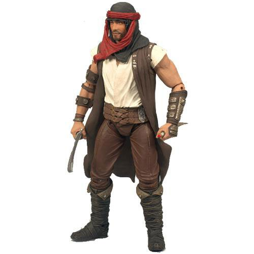 "Prince of Persia The Sands of Time 4"" Prince Dastan Desert Garb Action Figure - 1"