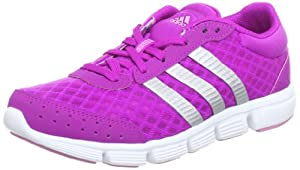adidas Performance  breeze w, Chaussures de running femme - Rose - Pink (VIVPNK/METSI), 44 2/3 EU