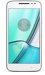 Moto G4 Play - Smartphone de 5 (Dual SIM, 4G, Cortex-A53, RAM de 2 GB, memoria interna de 16 GB, cámara de 8 MP, Android 6), blanco
