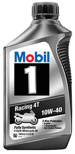 Mobil 1 Racing 4T 10W-40 Motorcycle Oil (Mobil 1 10w40 Motorcycle Oil compare prices)