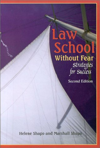 Law School Without Fear Strategies for Success