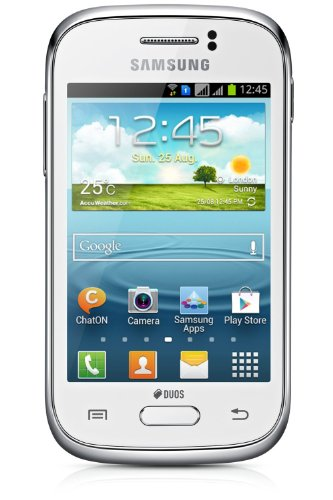 Samsung Galaxy Young Duos S6312 Dual-Sim (White)