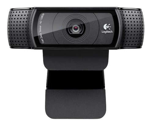 Logitech HD Pro Webcam C920, 1080p Widescreen Video Calling and Recording (960-000764)