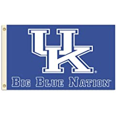 Buy NCAA Kentucky Wildcats 3-by-5 Foot Nation Flag With Grommets by BSI