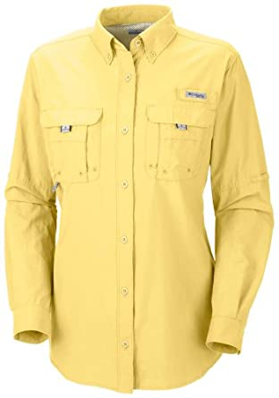 Columbia Ladies Bahama Long Sleeve Button Down Shirt by Columbia
