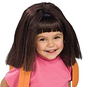Child Dora Wig from Rubies Costume Co. Inc