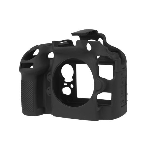 easyCover Silicone Camera Case for Nikon D800/D800E Black