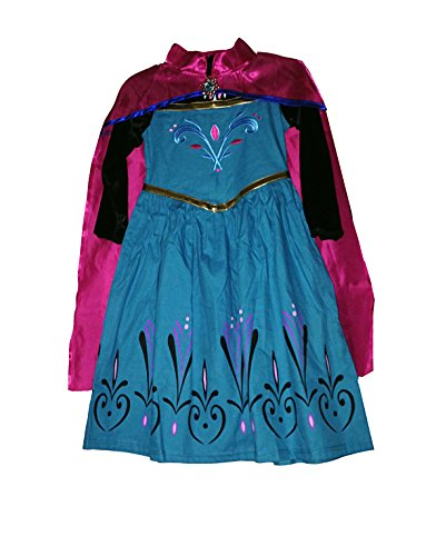 American Vogue Frozen Princess ELSA Coronation Dress with Cloak