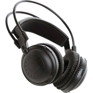 Pyle Plvwh2 Dual A/B Channel Infrared Wireless Stereo Headphone