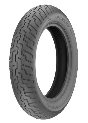 Dunlop D404 Tire - Front - 100/90-19 , Speed Rating: H, Tire Type: Street, Tire Construction: Bias, Position: Front, Rim Size: 19, Load Rating: 57, Tire Size: 100/90-19, Tire Application: Cruiser 32Nk32