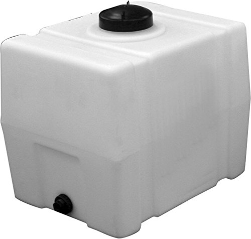 RomoTech Horizontal Square Polyethylene Reservoir, 100 gallon (Water Storage Tank 100 Gallon compare prices)