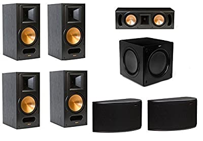 Klipsch RB-81 II 7.1 Surround Speaker Package with RC-52 II Center, R-14S Surround Speakers and SW-311 Subwoofer by Klipsch