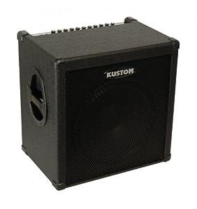 Kustom Amps KXB100 100-Watt 1 x 15 Inches Bass Combo 4-Band Equalizer