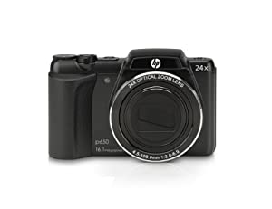 HP p650b 16.1 MP Digital Camera with 24 x Optical Image Stabilized Zoom with 3.0-Inch LCD (Black)