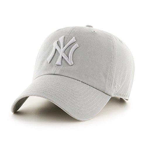47-Brand-Relaxed-Fit-Cap-MLB-New-York-Yankees-grau