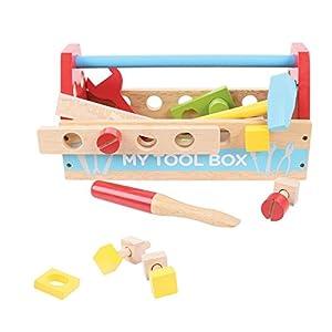 Bigjigs - Caja de herramientas (BIBJ302)
