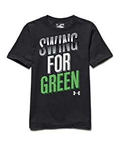 Under Armour Big Boys' UA Swing For Green T-Shirt by Under Armour