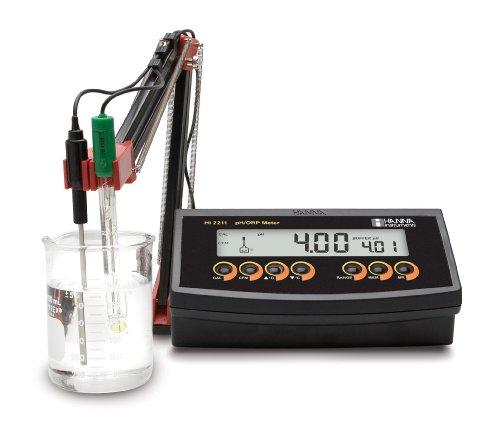 Hanna Instruments HI 2211 Benchtop pH/mV and Temperature Meter