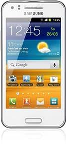 Samsung Galaxy Beam i8530 Smartphone (10,2 cm (4 Zoll) Touchscreen, 5 Megapixel Kamera, 3G mit HSPDA, Android 2.3) ceramic-white