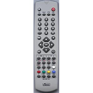 GOODMANS LGE42v7 COMPATIBLE remote control: Amazon.co.uk: Electronics