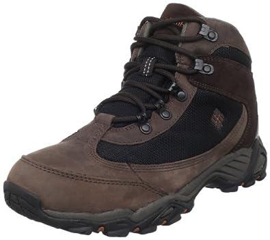 (底价)哥伦比亚 Columbia Men's Raven Ridge 男款Omni-Tech真皮户外靴 黑 $56.97