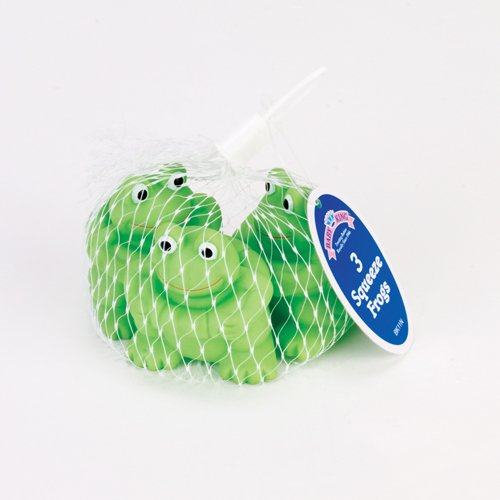 Bath Squeeze Toy - Set of Three (3) Play Frogs