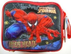 Spiderman Lunch Bag With Shoulder Strap 31