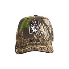 Buy NCAA Northwestern Wildcats EVOCAP Holds Eyewear in Place, Camo Color Cap by J-BREM