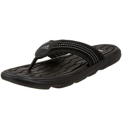 Adidas Men's Raggmo Thong Sandal,Black