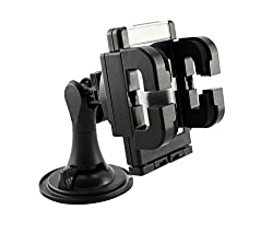 New Improved Design Universal Car Mount Cradle Holder Windshield Mobile / GPS Suction Holder For Devices Upto 5.5