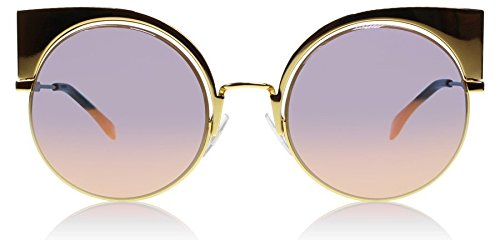 Fendi-001OJ-Gold-0177S-Round-Sunglasses-Lens-Category-2