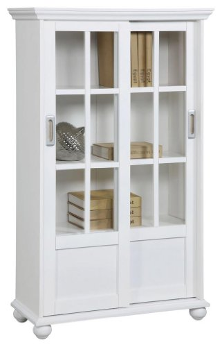 Simple Trafalgar 252 Bookcase With 2 Doors And 3 Shelves  Bookcases