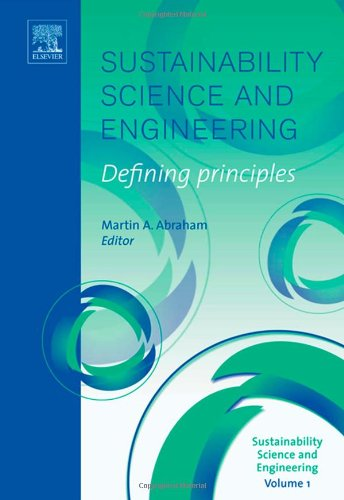 Sustainability Science And Engineering, Volume 1: Defining Principles